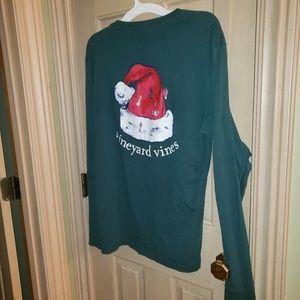 Mens sz Small Vineyard Vines Christmas shirt